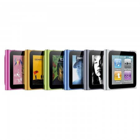 MP3 плейър Apple iPod 6 Nano 8GB
