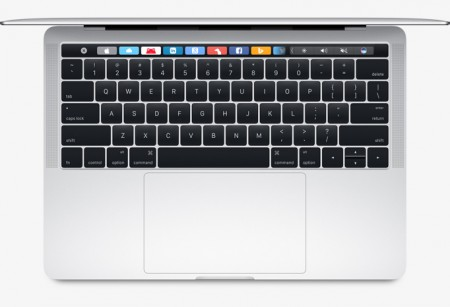 "Лаптоп Apple MacBook Pro 13"" 256GB Touch Bar and Touch ID Silver MLVP2"