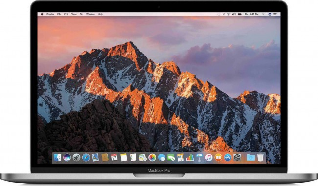"Лаптоп Apple Macbook Pro 13.3"" 128GB Gray - MPXQ2"