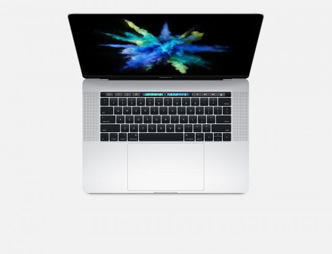 "Лаптоп Apple MacBook Pro 15"" Retina Display 256GB Touch Bar Silver MPTU2 (2017)"