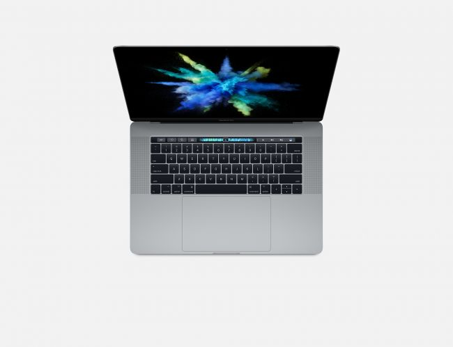 "Лаптоп Apple MacBook Pro 15"" Retina Display 512GB Touch Bar Space Grey MPTT2 (2017)"
