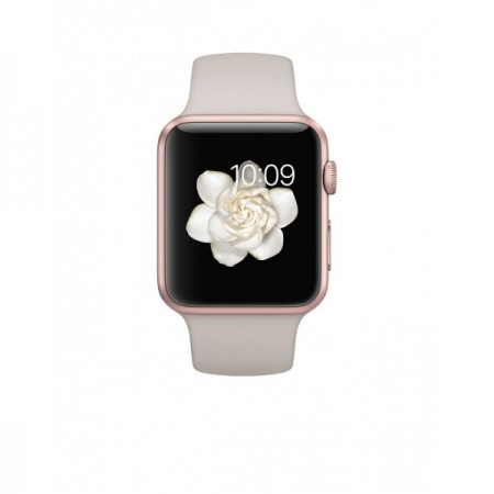 Smart Часовник Apple Watch Aluminium Rose Gold Case Lavender Sport Band 42mm - MLC62