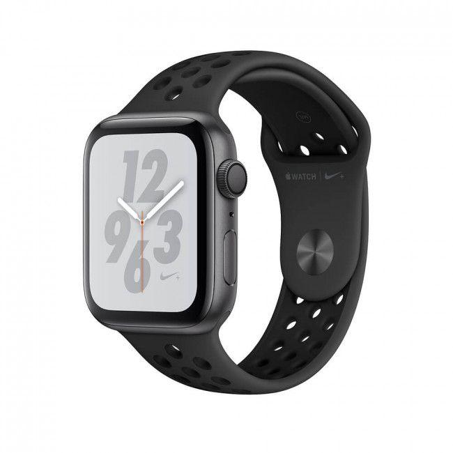 Smart Часовник, Smart Watch, Умен Часовник Apple WATCH Nike+ Series 4 GPS 44mm Space Gray Aluminum Case with Anthracite/Black Nike Sport Band- MU6L2