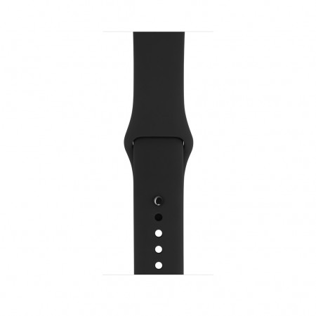 Цена на Apple Watch Series 2  Space Black Stainless Steel Case Black Sport Band 42mm - MP4A2