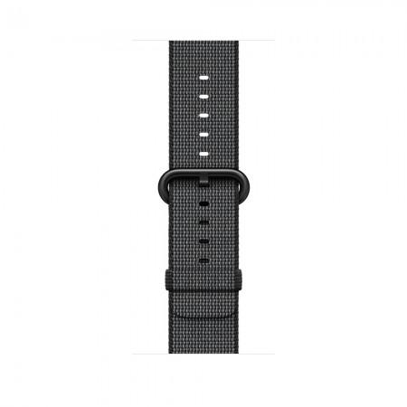 Цена Apple WATCH SERIES 2 SPACE GREY ALUMINIUM CASE WITH BLACK WOVEN NYLON BAND 42MM - MP072