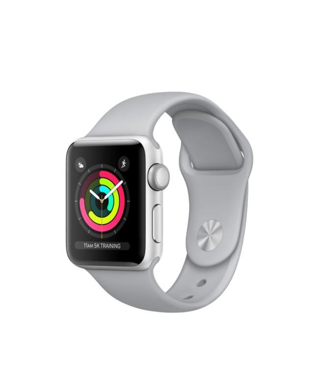 Smart Часовник Apple Watch Series 3 38mm Space Gray Aluminum MQKV2