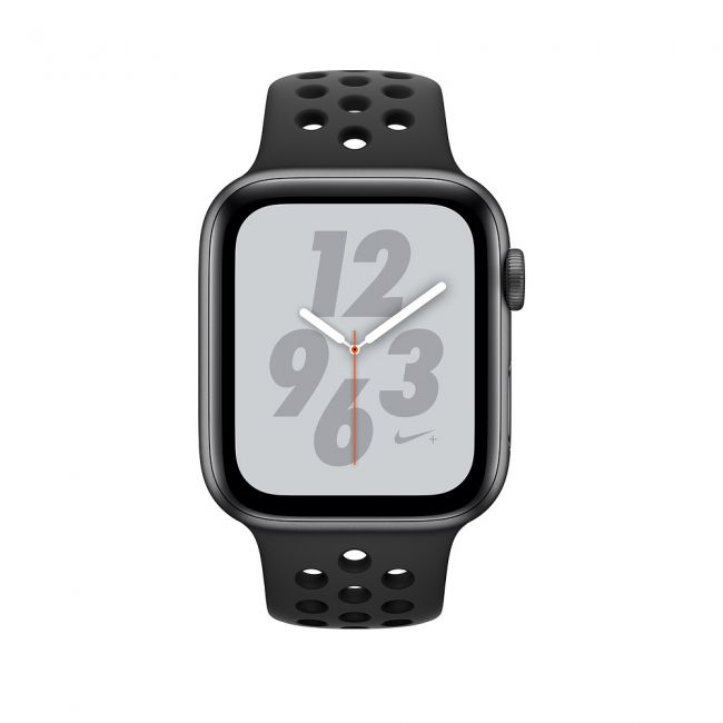 Smart Часовник Apple Watch Series4 40mm, Nike+ Space Gray Aluminum Case with Anthracite/Black Nike Sport Band