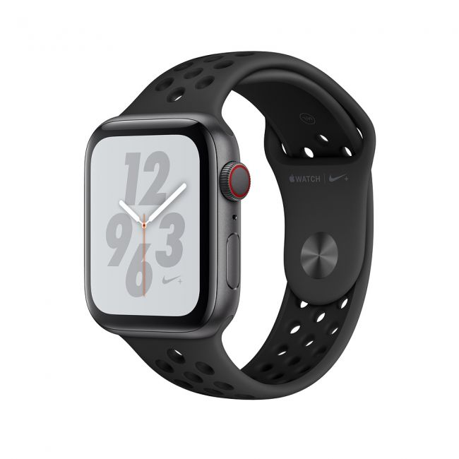 Smart Watch Apple Watch Series4 44mm, Nike+ Space Gray Aluminum Case with Anthracite/Black Nike Sport Band