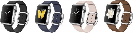 Smart Часовник Apple Watch Stainless Steel Case Modern Buckle 38mm MJ332 MJ372