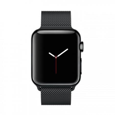 Цена на Apple Watch Stainless Steel Case Space Black Milanese Loop 38mm -  MMFK2