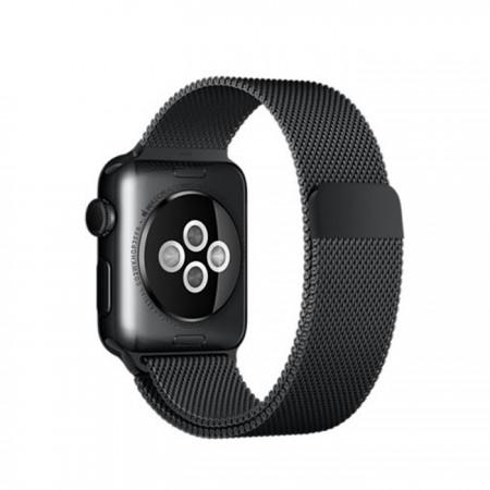 Цена Apple Watch Stainless Steel Case Space Black Milanese Loop 38mm -  MMFK2