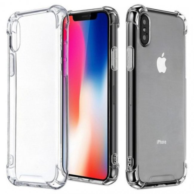 Калъф за Apple XR Silicone invisible case
