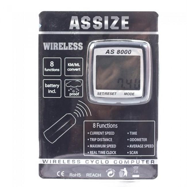 Аксесоар за велосипед Assize Вело компютър AS 8000