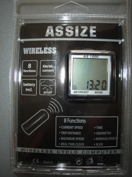 Аксесоар за велосипед Assize Вело компютър AS1000