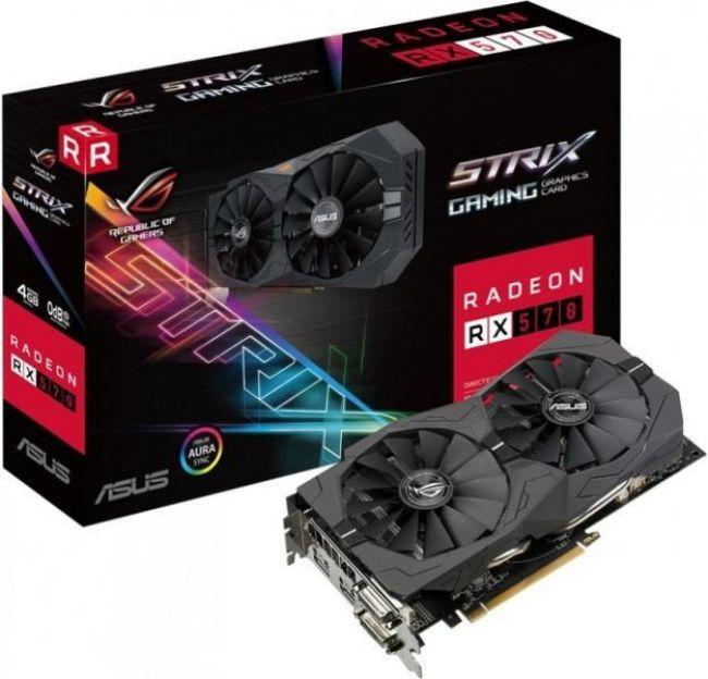 Видеокарта ASUS ASUS ROG-STRIX-RX570-4G-GAMING