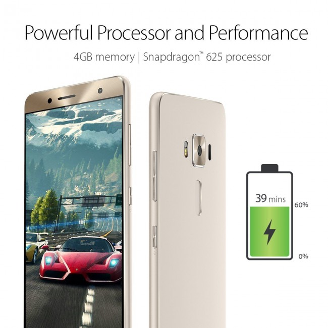 Снимки на ASUS Zenfone 3 Deluxe 5.5 ZS550KL Dual SIM
