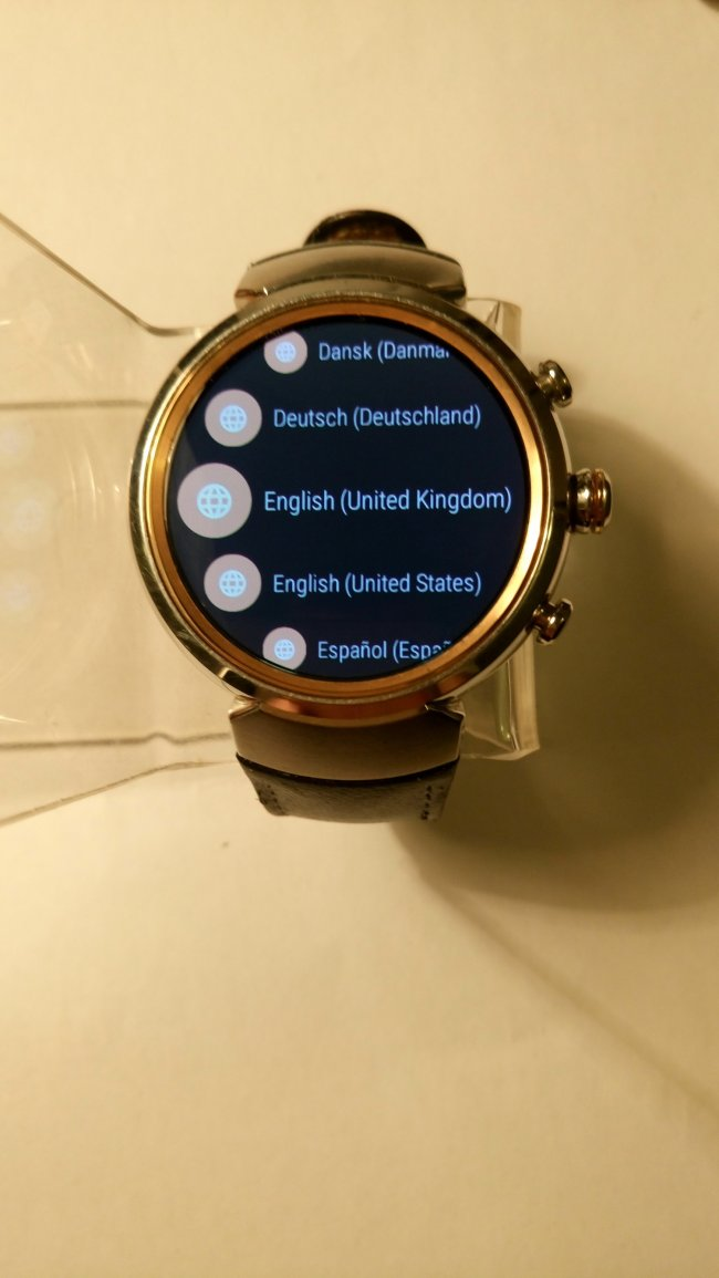 Smart Watch ASUS Zenwatch 3 WI503Q втора употреба
