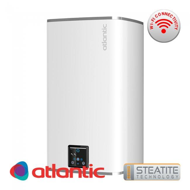 Бойлер Atlantic Steatite CUBE Wi-Fi 75л