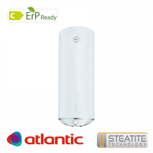 Бойлер Atlantic Steatite Slim 80л мултипозиционен