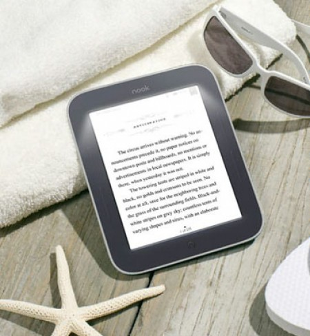 Електронна книга Barnes & Noble Nook Simple Touch GlowLight