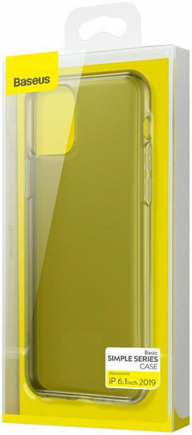 Калъф за Baseus Basic Simple Series Case iPhone 11 6.1