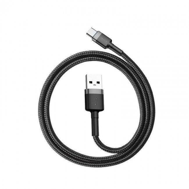 Снимки на Baseus Cafule Cable Type-C 3A 1m
