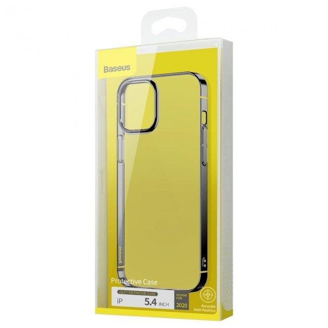 Калъф за Baseus Glitter Phone Case for iPhone 12 Mini