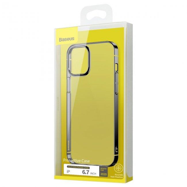 Калъф за Baseus Glitter Phone Case for iPhone 12 Pro Max