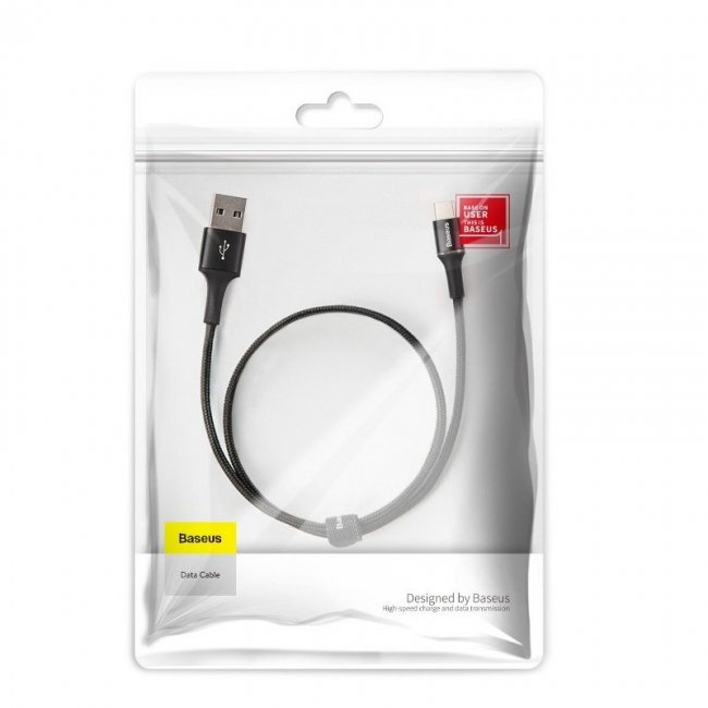 Кабел Baseus Halo data cable IP 0.5m 40W