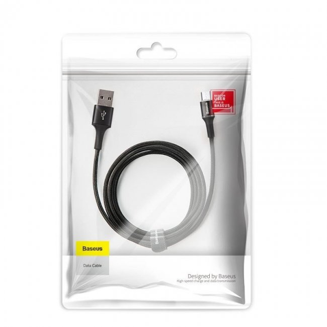 Кабел Baseus Halo data cable Micro 2A 3m