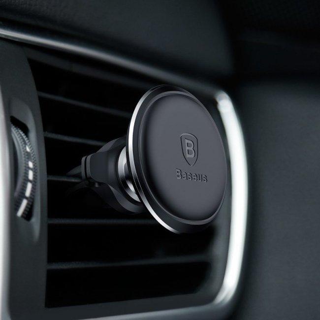 Baseus Magnetic Air Vent magnetic car holder for grid Снимка