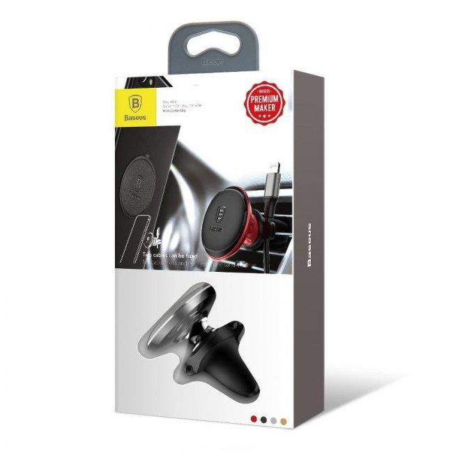 Baseus Magnetic Air Vent magnetic car holder for grid