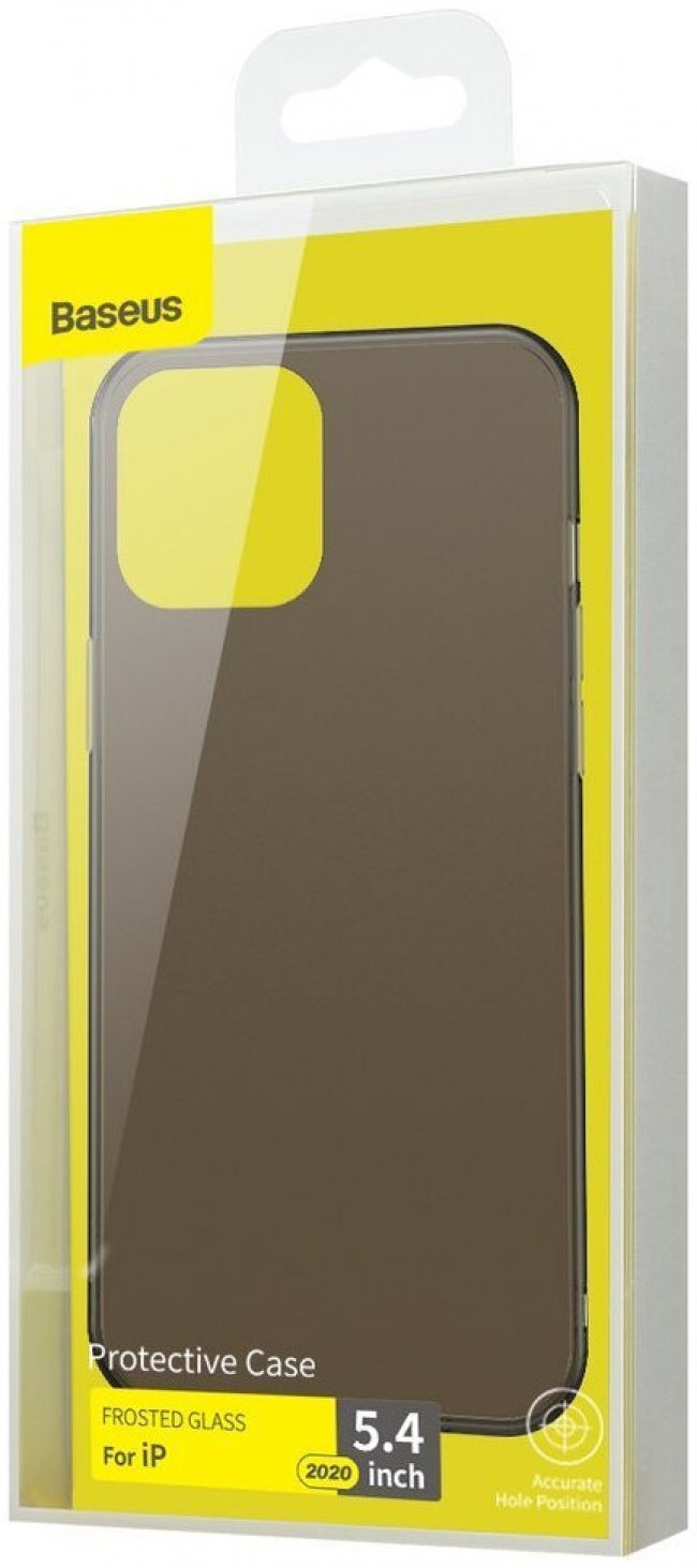 Калъф за Baseus Protective Case Frosted Glass iPhone 12 Mini 5.4