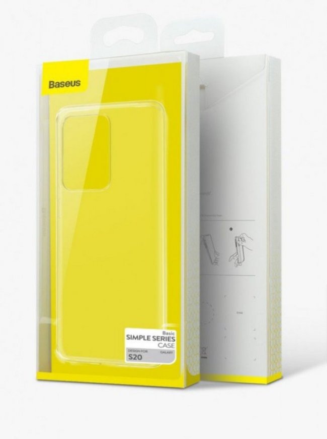 Калъф за Baseus Simple Series Case Samsung Galaxy S20 G980