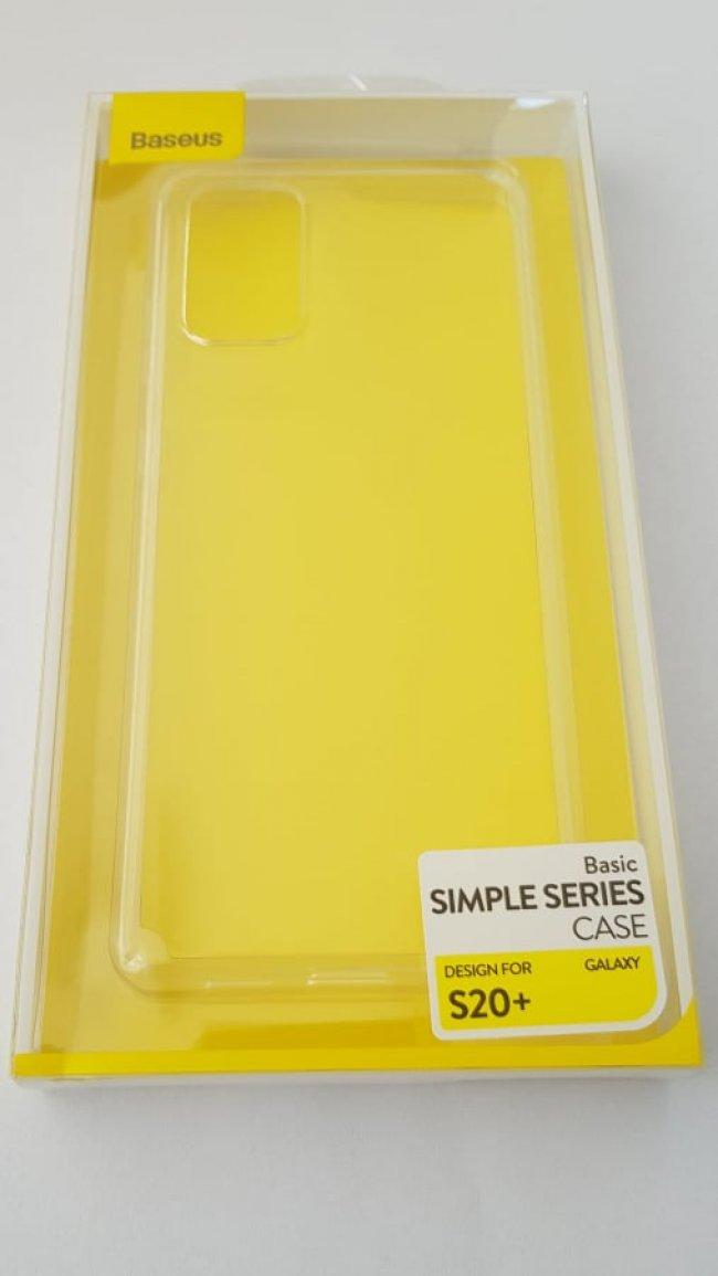Калъф за Baseus Simple Series Case Samsung Galaxy S20+ G985