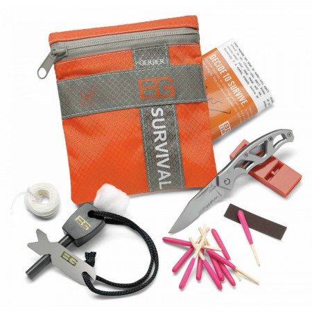 Инструмент Bear Grylls КОМПЛЕКТ SURVIVAL BASIC KIT