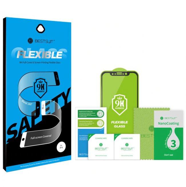 Стъклен Протектор за мобилен телефон BESTSUIT Apple iPhone XS Max/11Pro Flexible 9H Full-Cover Glass