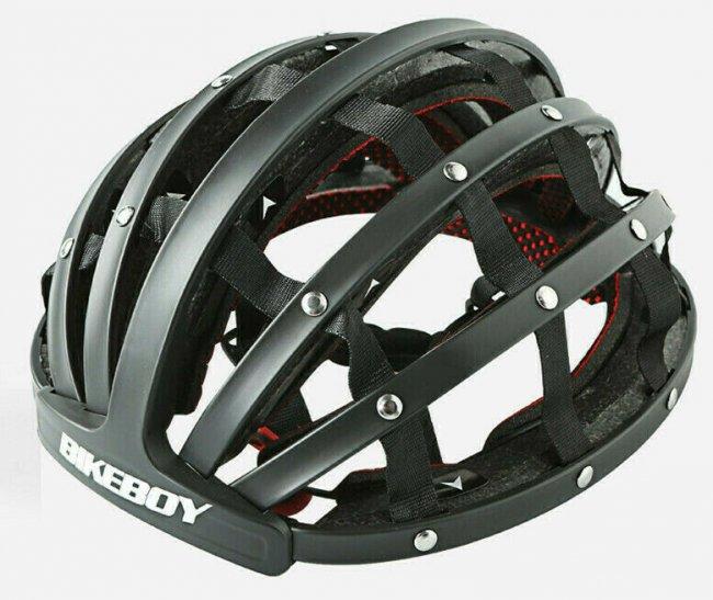 Аксесоар за велосипед Bikeboy Folding Helmet Ultralight 52-60cm - Сгъваема каска