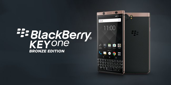 Смартфон BlackBerry KeyOne BRONZE EDITION DUAL SIM
