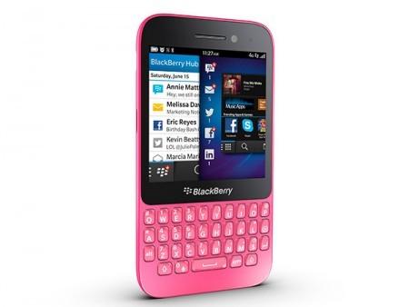 GSM BlackBerry Q5