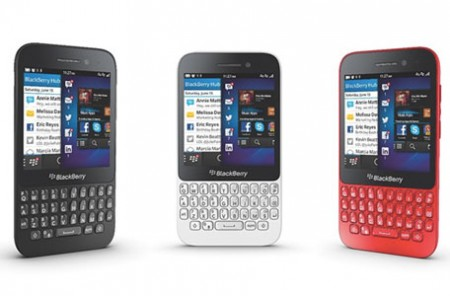 GSM BlackBerry Q5