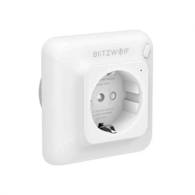 Смарт контакти и разклонители BlitzWolf Smart Plug контакт