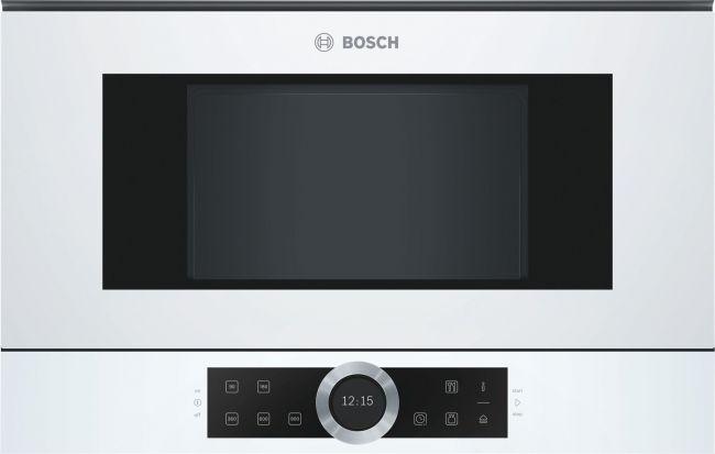 Микровълнова фурна за вграждане Bosch BFR634GW1