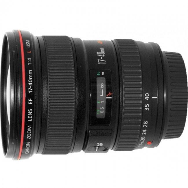 Обектив Canon EF 17-40mm f/4L USM