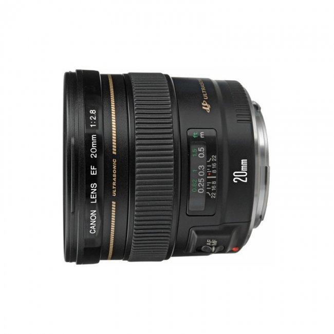 Обектив Canon EF 20mm f/2.8 USM