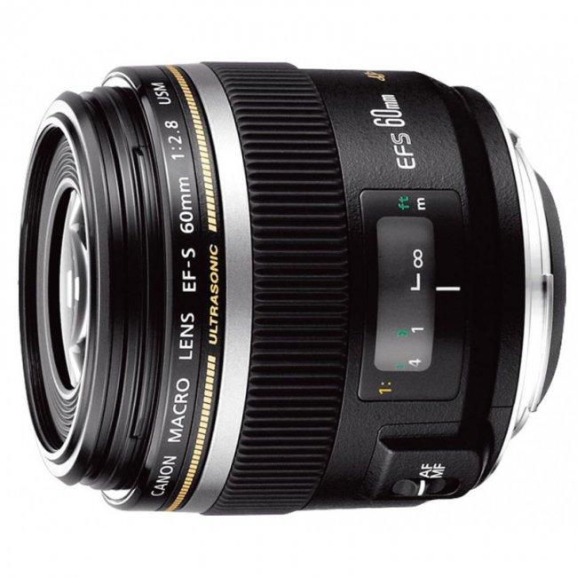 Обектив Canon EF-S 60mm f/2.8 Macro USM