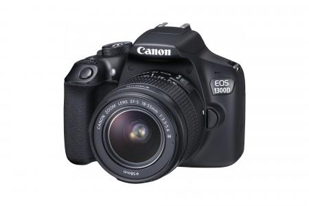 Фотоапарат Canon EOS 1300D + обектив CANON EF-S 18-55mm DC III