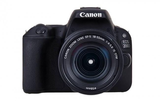 Фотоапарат Canon EOS 200D+обектив Canon 18-55 IS STM