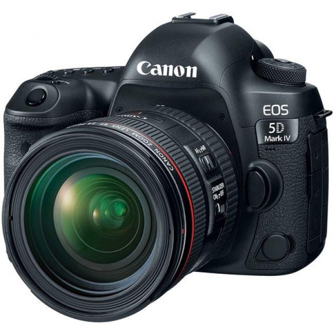 Фотоапарат Canon EOS 5D Mark IV+обективCanon EF 24-105mm f/4L IS USM II