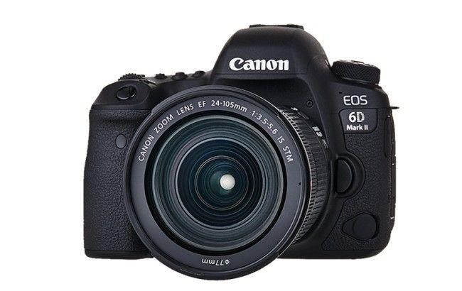 Фотоапарат Canon EOS 6D Mark II+обектив EF 24-105mm f/4L IS USM